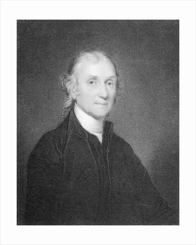 Clergyman and Chemist Joseph Priestley by Corbis