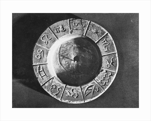 Egyptian Calendar with Zodiac Signs by Corbis