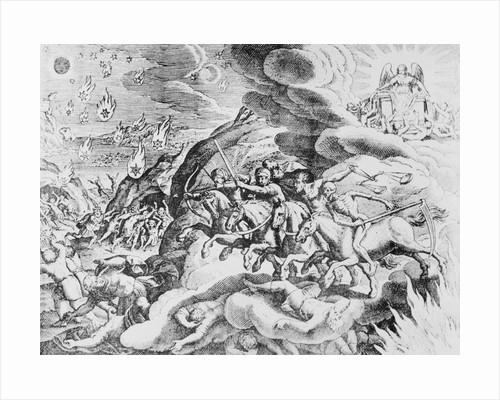 Four Horseman of the Apocalypse by Merian Matthaeus the Elder