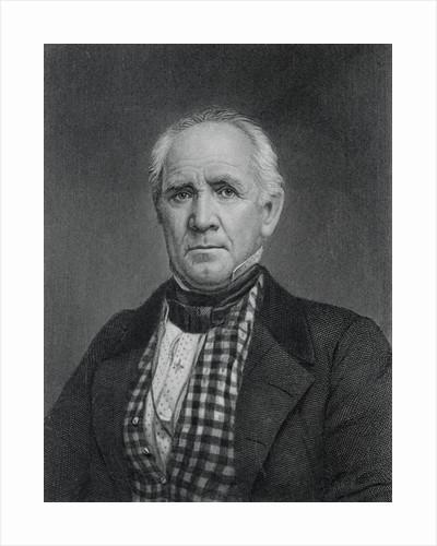 Portrait of Sam Houston by Corbis