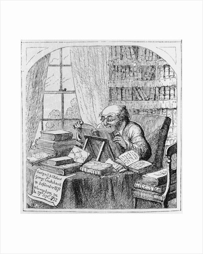 Bibliomaniac by George Cruickshank