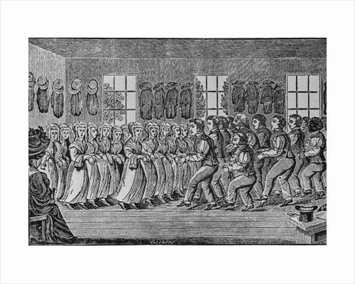 Shakers Dancing in Ceremony by Corbis
