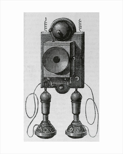 Old Fashioned Telephone by Corbis
