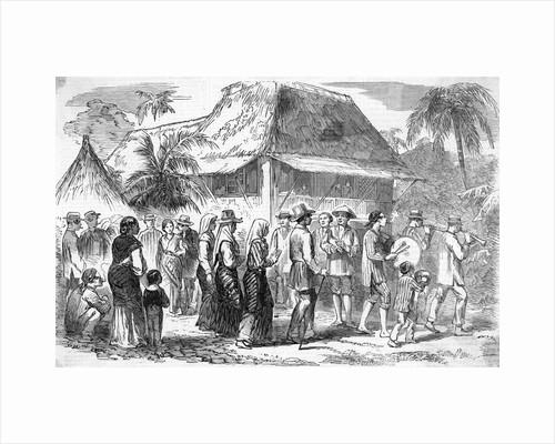 Manillan Marriage Ceremony in Progress by Corbis