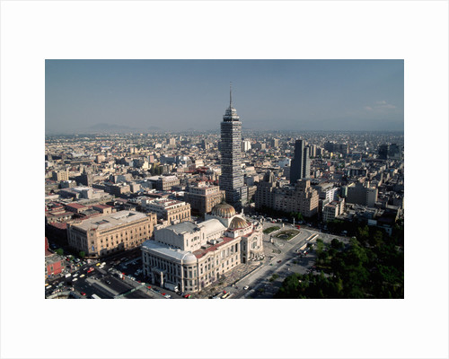View from Above of Mexico City by Corbis