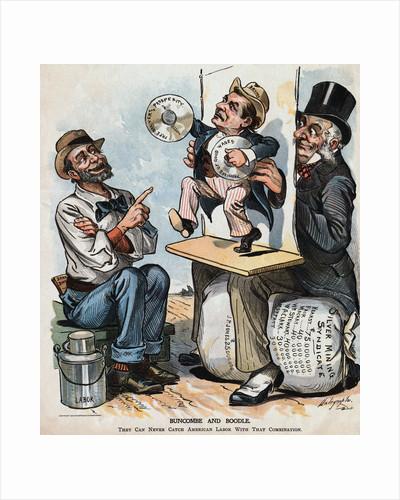 1896 Political Cartoon by Corbis