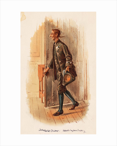 Illustration Depiction Ichabod Crane Character by Corbis