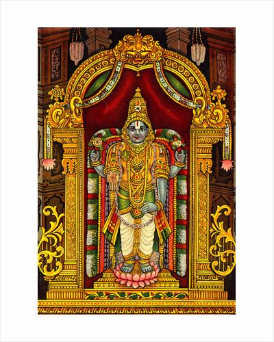Hindu God Venkateswara by Corbis