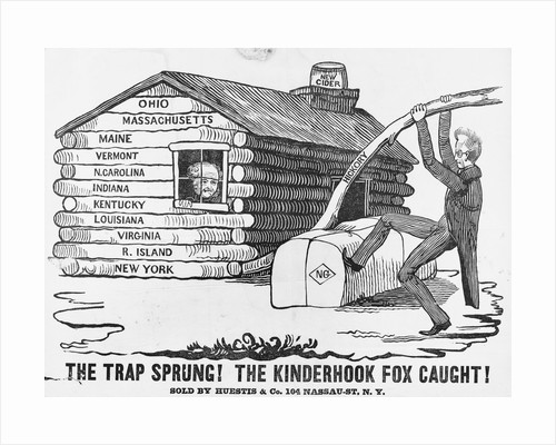 1840 Presidential Election Cartoon by Corbis