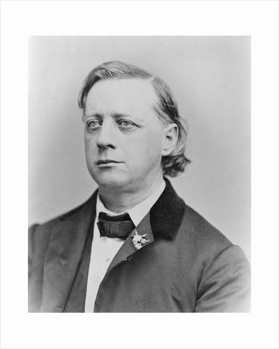 Portrait of Clergyman Henry Ward Beecher by Corbis