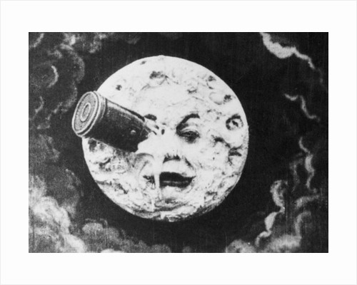 Moon Face from A Trip to the Moon by Corbis