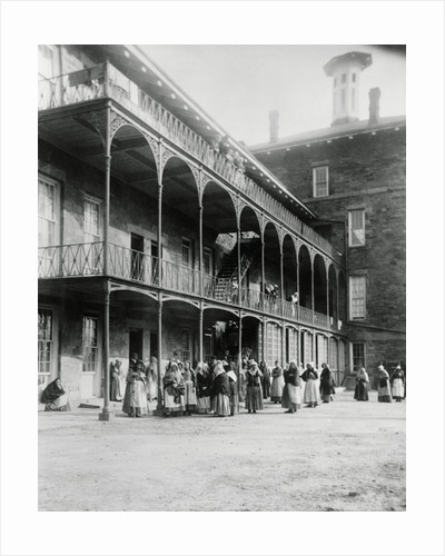 Blackwell's Island Alms House for Females by Corbis