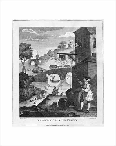 Hogarth Print on Perspective by Corbis