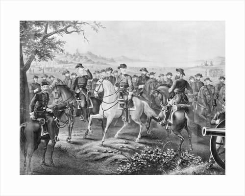 Robert E. Lee and Generals by Corbis