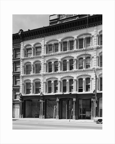 Cast-Iron Building Facade by Corbis
