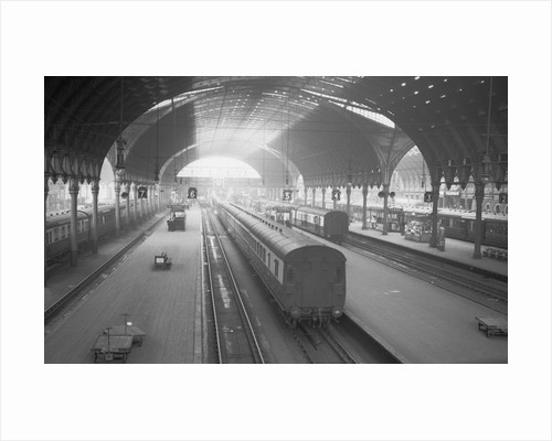 Paddington Railroad Station by Corbis
