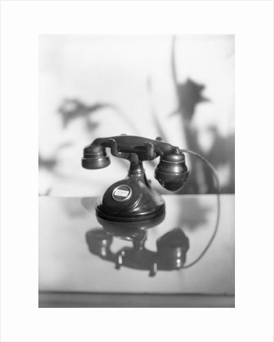 Black Rotary Telephone by Corbis