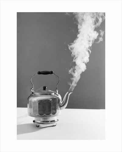 View of Steaming Kettle by Corbis