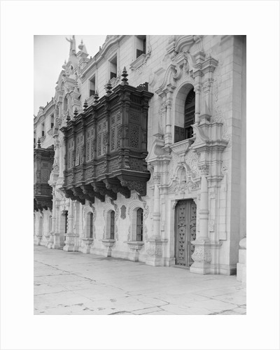 View of the Palacio Arzobispal by Corbis