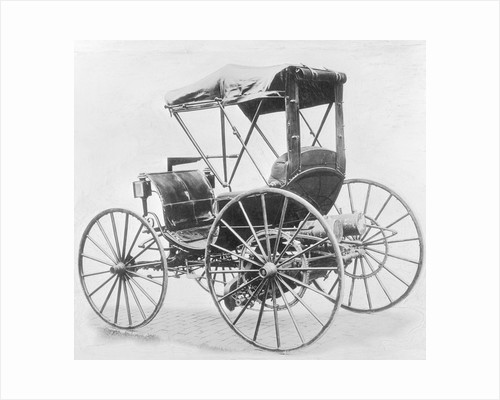 View of First Internal Combustion Motor Car by Corbis