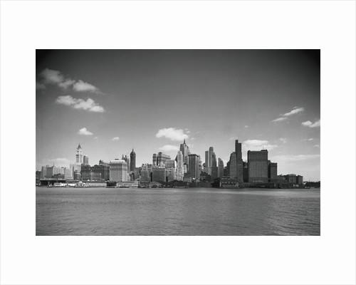 Lower Manhattan and Skyline by Corbis