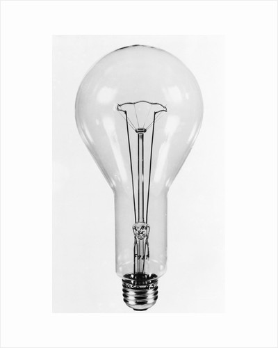 GE Electric Light Bulb by Corbis