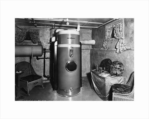 GE Oil Furnace in Residence by Corbis