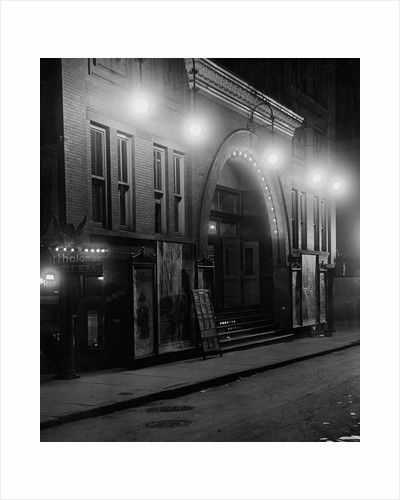 Entrance to the Corinthian Theater by Corbis