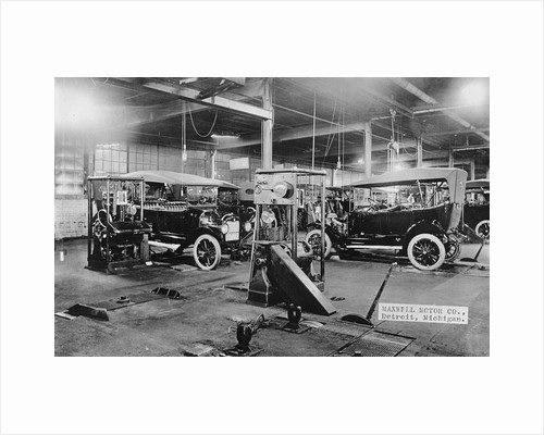 Automobile Assembly Area by Corbis