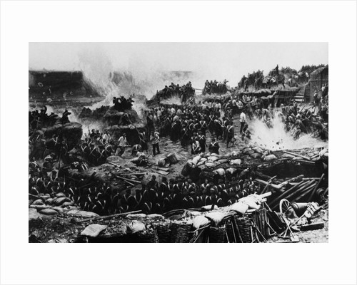 Battle of the Crimean War by Corbis