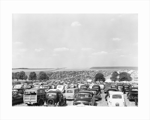 Automobile Parking Lot by Corbis