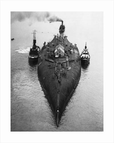 Tugs Towing the Prinz Regent Luitpold by Corbis