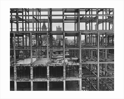 Construction of Government Offices by Corbis