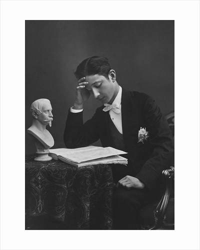 Portrait of Eugene- Prince Imperial of France by Corbis
