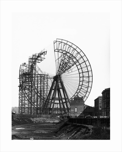 Construction of Giant Wheel by Corbis