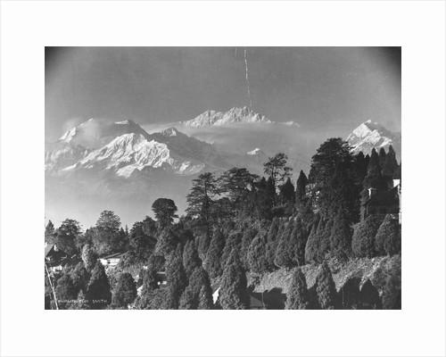 Kanchenjunga Mountain by Corbis