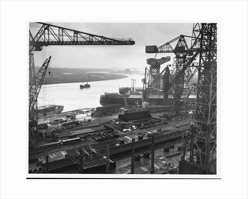 John Brown's Shipyard on the Clyde by Corbis