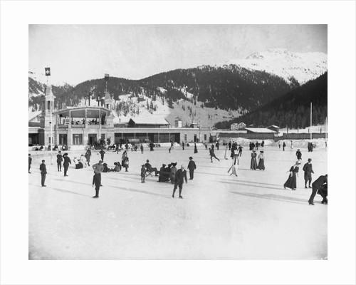 Alpine Ice Rink by Corbis