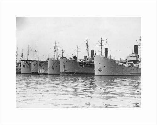 French Mediterranean War Fleet by Corbis