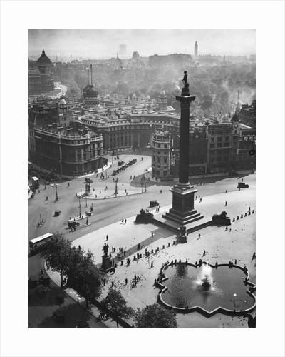 Trafalgar Square, London by Corbis
