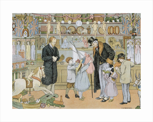 The Toy Shop by Francis Donkin Bedford