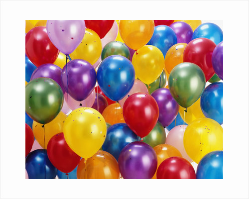 Birthday Balloons by Corbis