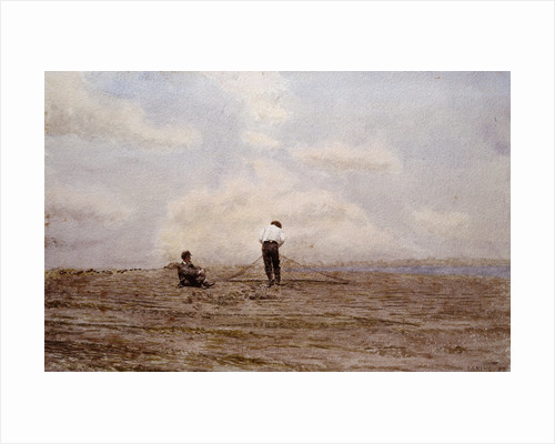 Tending the Fishing Nets by Thomas Eakins