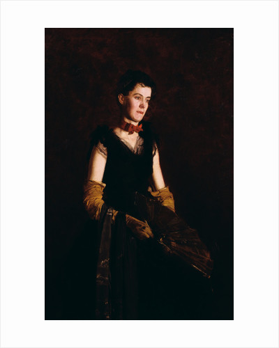 Letitia Wilson Jordan by Thomas Eakins