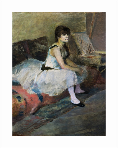 Dancer at Rest by Edgar Degas