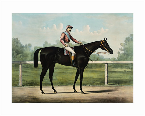 The Great Racer Kingston by Currier & Ives