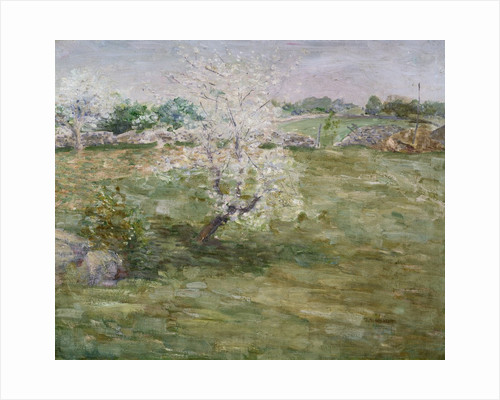Orchard by Julian Alden Weir