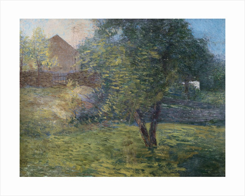 Painting of Country Scene by Julian Alden Weir