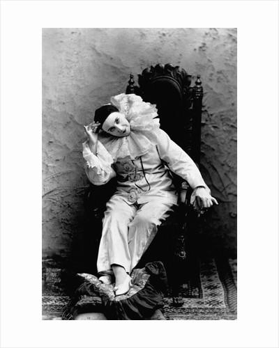 Pilar Morin in Clown Costume by Corbis