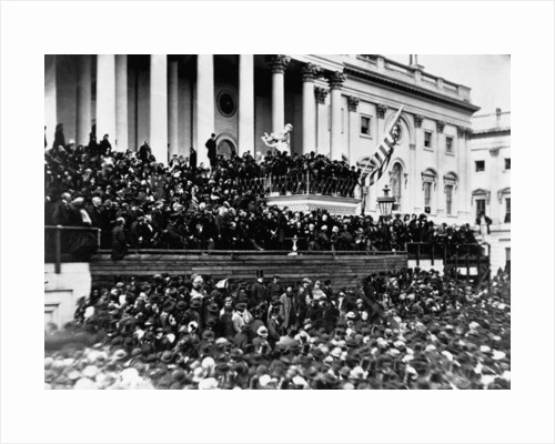 Second Inauguration of President Abraham Lincoln by Corbis